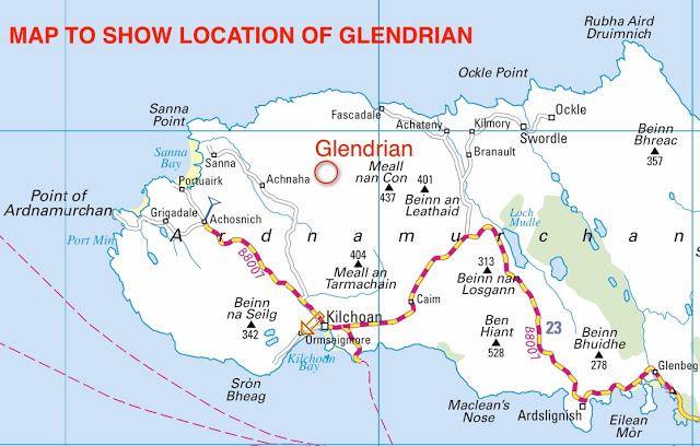 Glendrian Map