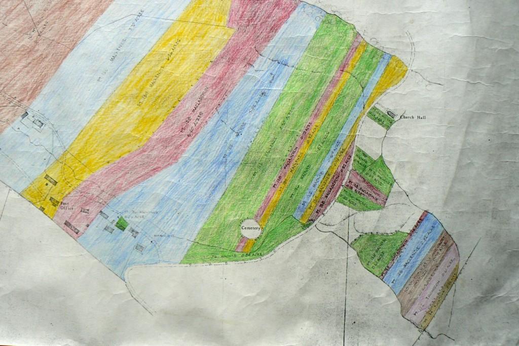 A croft map of Kilmory township