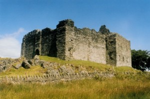 Castle Sween, courtesy geography,org.uk