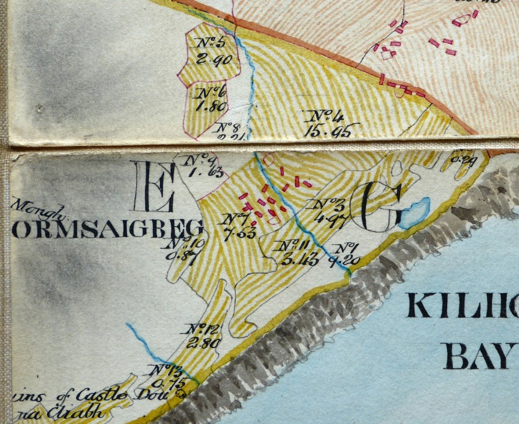 Map of Ormsaigbeg taken from Alexander Bald's map, 1806.