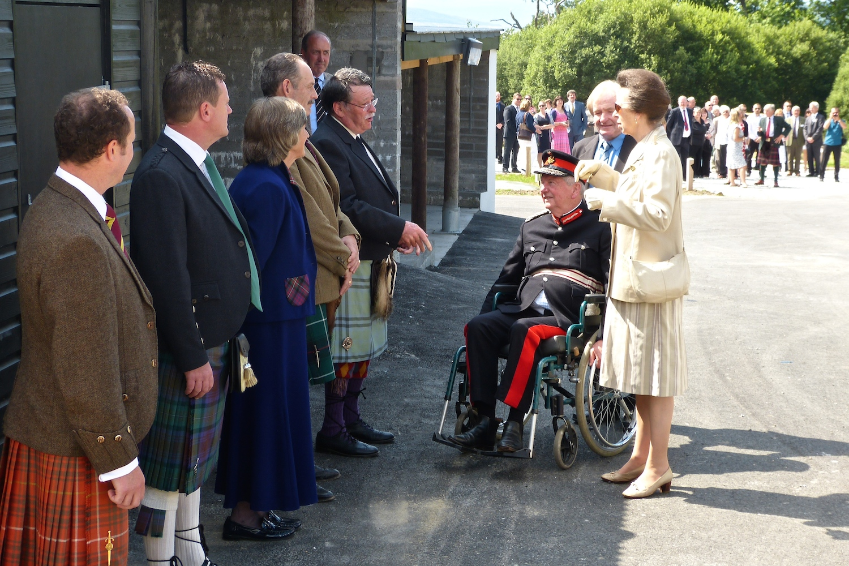 Princess Royal at Glenbeg
