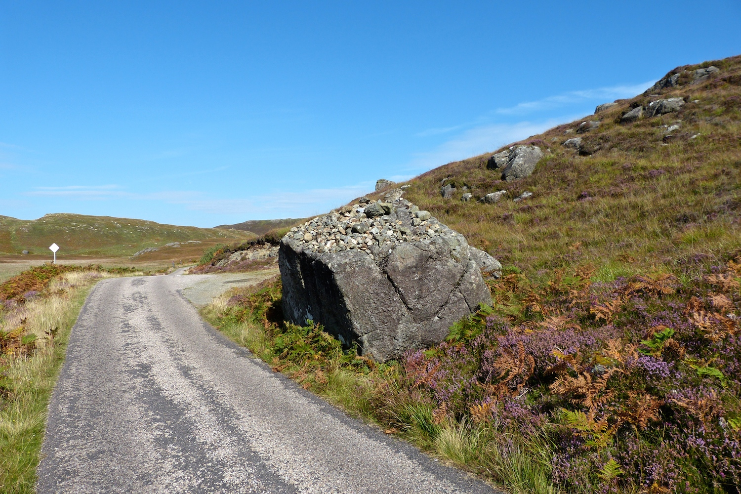 Stone by Creag an Airgid