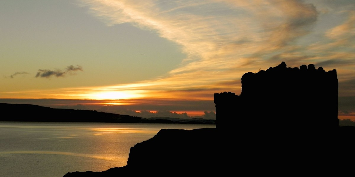 Mingary Castle - Sunset