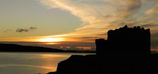 Mingary Castle - Sunset